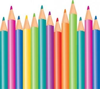 vetor lápis de cor