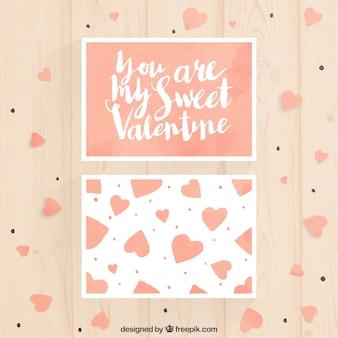 Você é meu cartão do Valentim doce