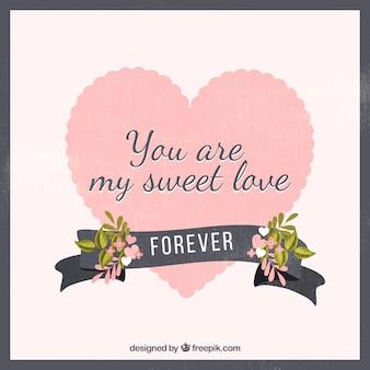 Você é o meu fundo doce amor