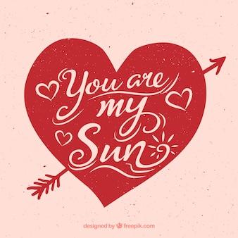 Você é o meu sol fundo