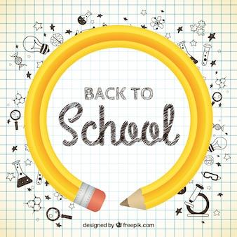 Voltar para lápis escola