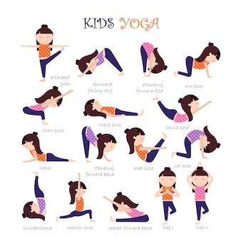 Yoga coloca coleção