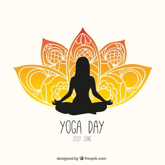 Yoga dia panfleto
