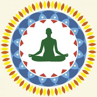 Yoga Posição de Lótus
