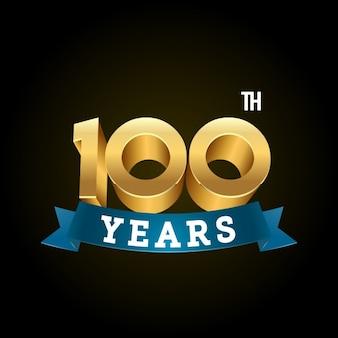 100 anni di sfondo nero