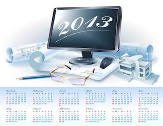 2013 progettista progetto calendario prevede vettore