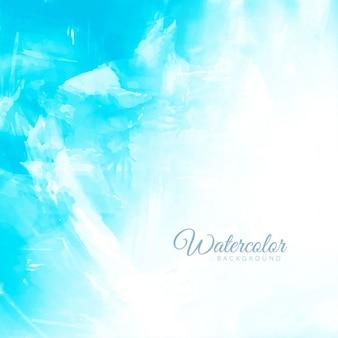 Abstract blue sfondo acquerello disegno