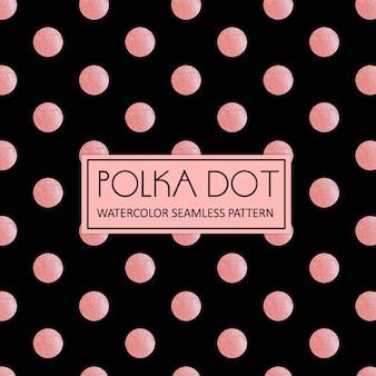 Acquerello Polka Dot sfondo