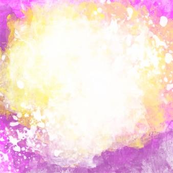 Acquerello sfondo colorato