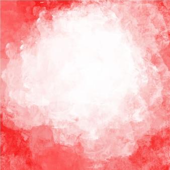 Acquerello sfondo rosso