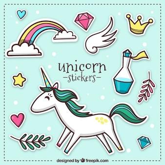 Adesivi unicorn