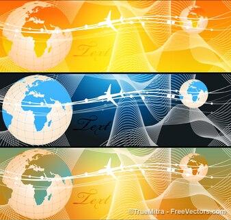 Affari striscione grafica logo vettoriale