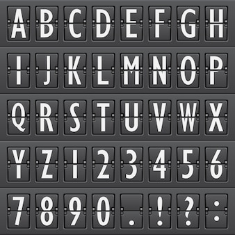 Alphabet, aeroporto