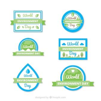 Ambiente Mondiale collezione etichetta giorno con nastri