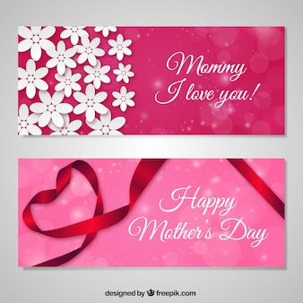 Amore banner Happy Mothers Day