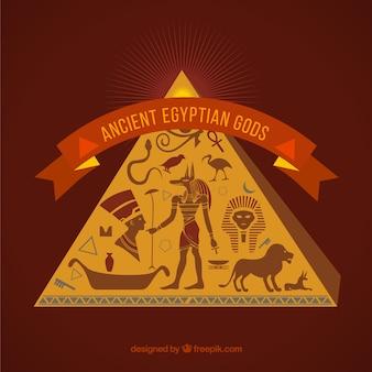 Antiche divinità egiziano