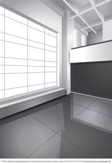 Scala di grigi foto e vettori gratis for Interior design ufficio