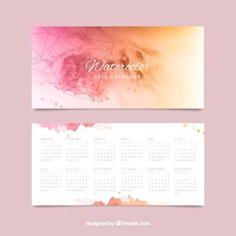 Artistico Calendario 2018 acquerello