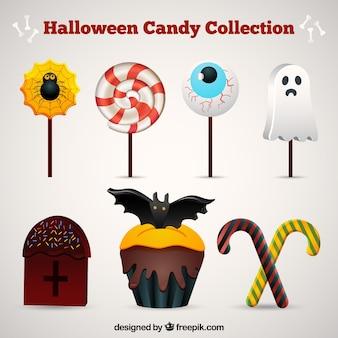 Assortimento di caramelle di halloween