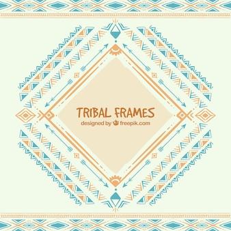 Astratte cornici tribali