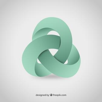 Astratto logo 3D