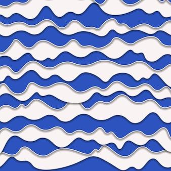 Astratto sfondo blu e bianco di plastica