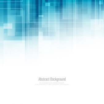 Astratto sfondo blu geometrico elegante