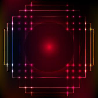 Astratto sfondo colorato digitale