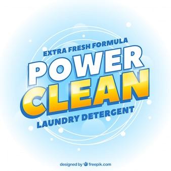 Astratto sfondo di pulizia di potenza
