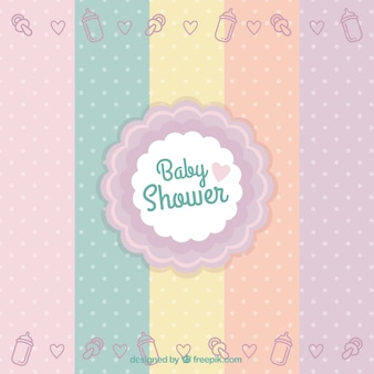 Baby shower distintivo