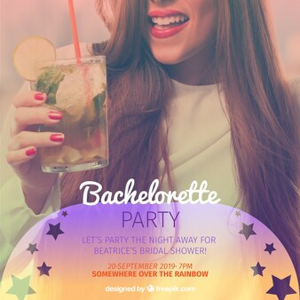 Bachelorette party background