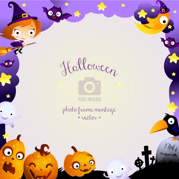 Background design Halloween