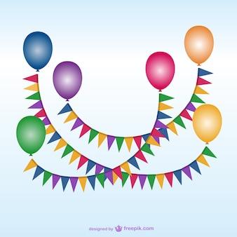 balloon vettore