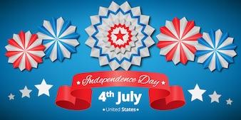 Bandiera di giorno dell'indipendenza