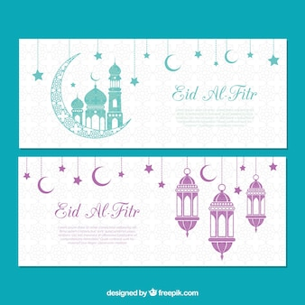 Bandiere Eid al fitr