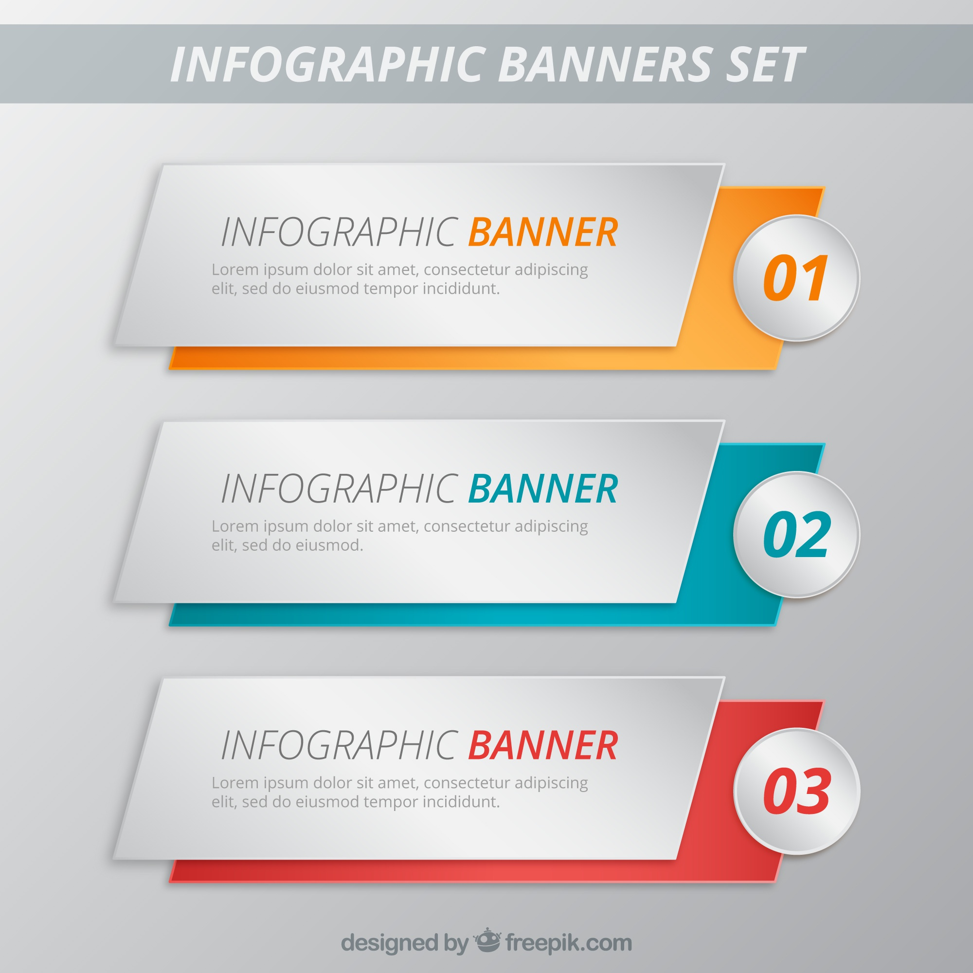 Banner infographic Template Pack