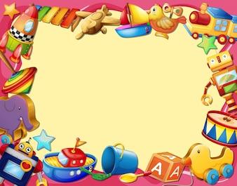 Banner per i giocattoli