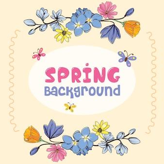 Bella primavera sfondo