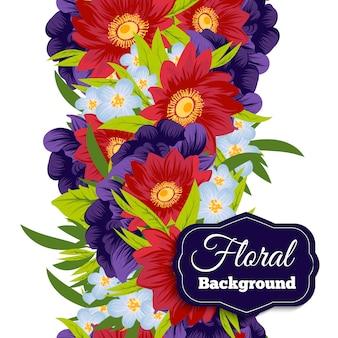 Bello sfondo di fiori