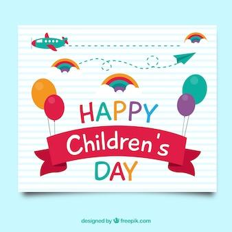 Biglietto di auguri giorno per bambini