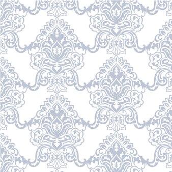 Blu e bianco modello ornamentale