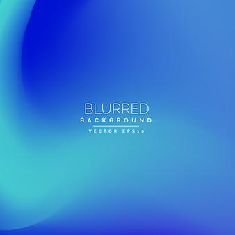 Blu sfocatura sfondo vettoriale