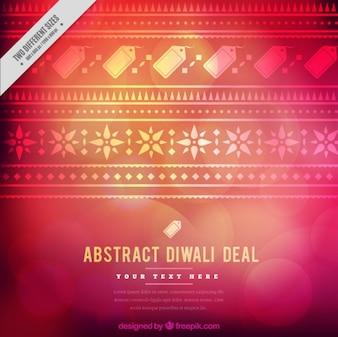 Bokeh ornamentale di vendite Diwali