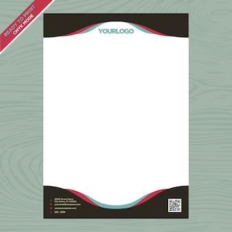 Brochure aziendali bianche