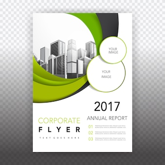 Brochure aziendali verde