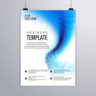 Brochure business moderno