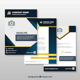 Brochure di business eleganti