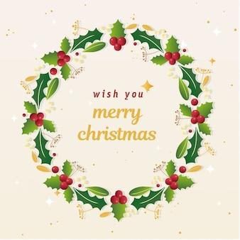 Buon cartolina d'auguri di Natale