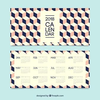 Calendario creativo 2018