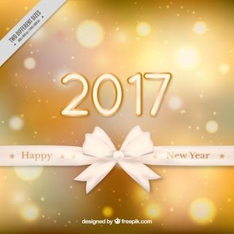 Capodanno 2017 Golden Background